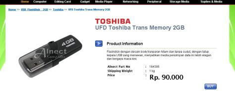 UFD Toshiba